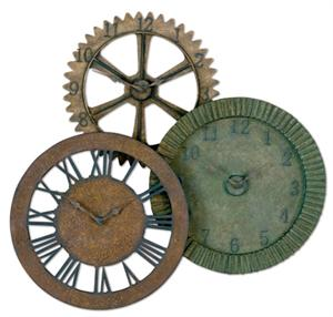 rusty gears clocks
